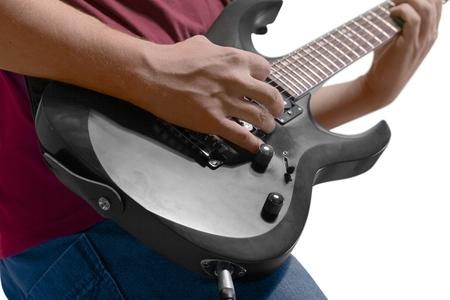rock guitarist: Guitar.