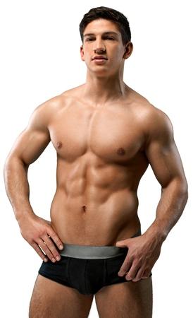 modelos hombres: Ropa Interior. Foto de archivo