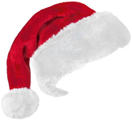 Chapeau de Père Noël. Banque d'images - 48770421