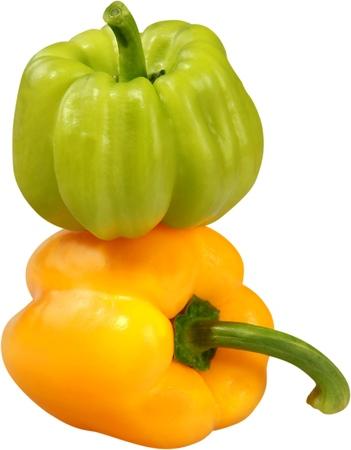 descriptive color: Pepper. Stock Photo