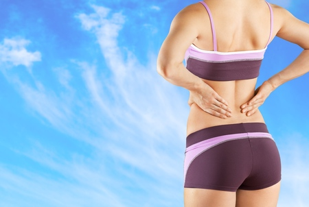 spinal disc herniation: Pain.