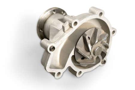 turbocharger: Compressor. Stock Photo