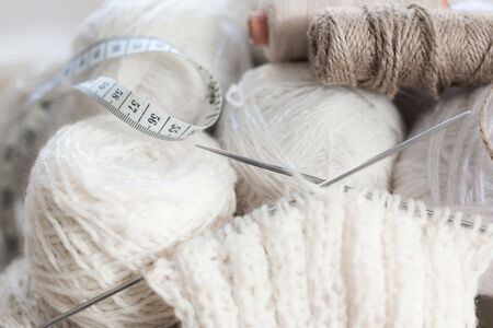 needlecraft product: Wool.