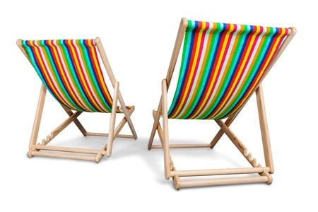 strandstoel: Vakantie.