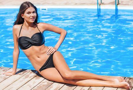 Bikini. Stock Photo