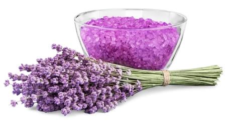 spa therapy: Lavender. Stock Photo