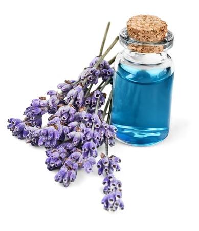 lavender coloured: Aromatherapy Oil.