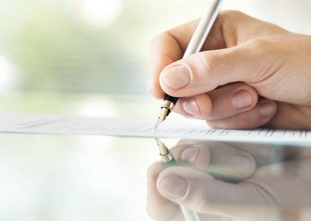 signing: Signing.
