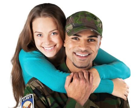 enlisting: Military.