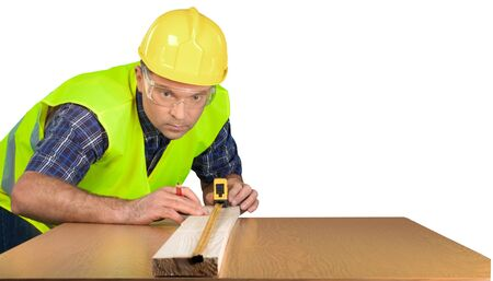 manual measuring instrument: Construction. Stock Photo