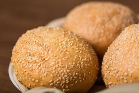 food staple: Bagel. Stock Photo