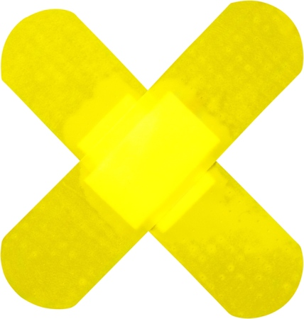 adhesive bandage: Adhesive Bandage.