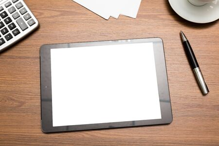 tablet: Tablet. Stock Photo