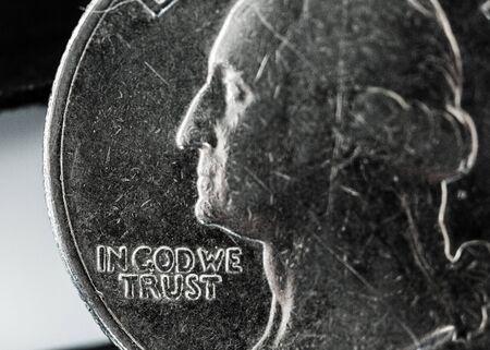 25 cents: God.