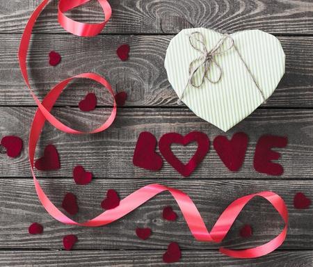 heart shaped stuff: Love.