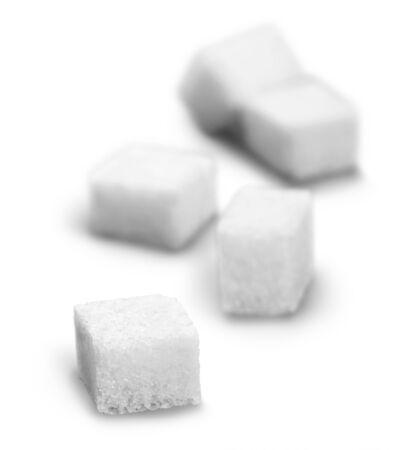 five objects: Sugar.