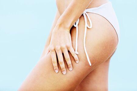 bikini butt: Butt.