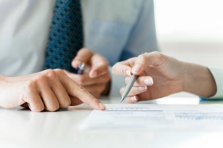 Contract. Stock Photo - 50199440