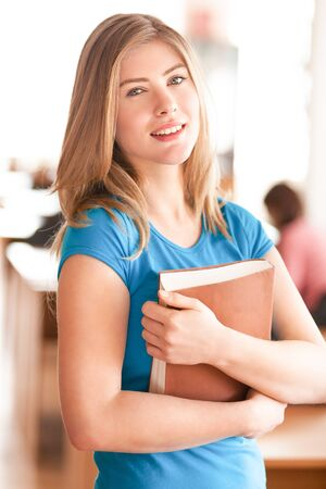 educational research: Student. Stock Photo