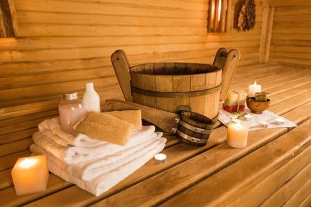 Sauna. Stock fotó