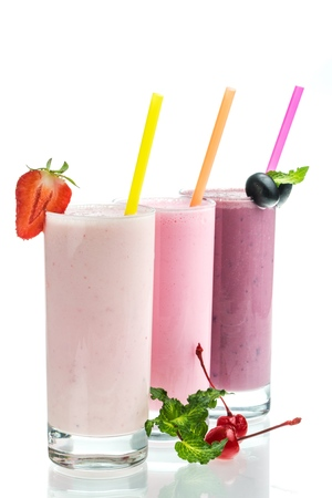 soured: Smoothie. Stock Photo