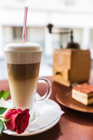 upper class: Cappuccino.