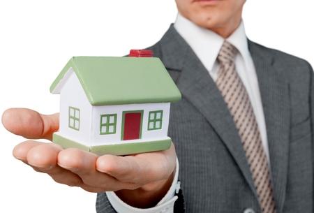 savings problems: Real Estate. Stock Photo