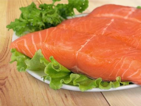 rosmarin: Salmon. Stock Photo