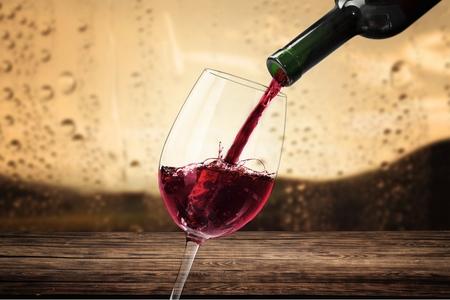 tasting wine: Wine. Stock Photo