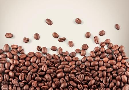 coffee grains: Coffee.