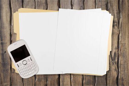file clerk: File. Stock Photo