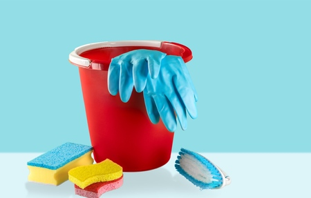 disinfect: Cleaning. Stock Photo