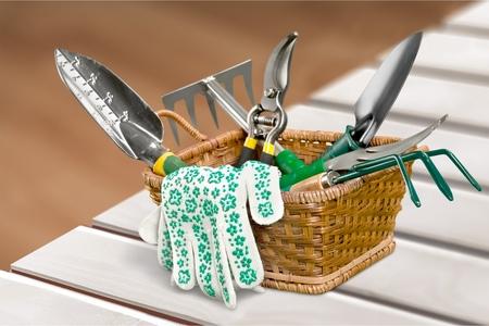 gardening tool: Gardening Equipment. Stock Photo
