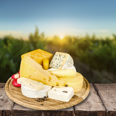marbled effect: Cheese.