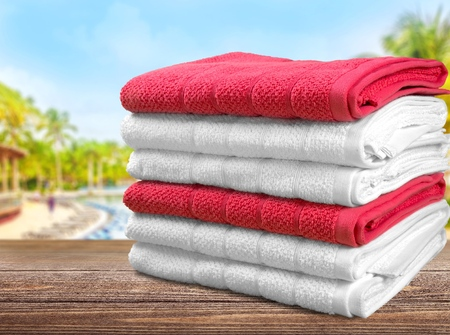 small group of objects: Towel.