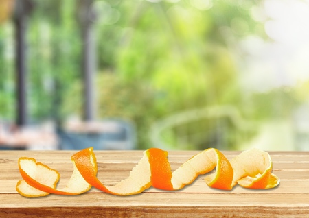orange peel skin: Orange. Stock Photo