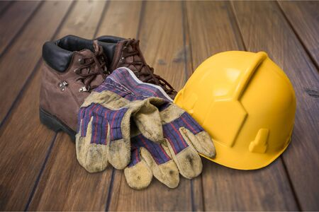 steel toe boots: Safety Equipment.