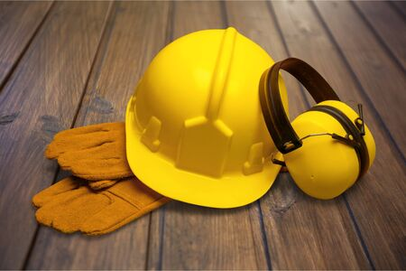 Protective Workwear. Stock Photo