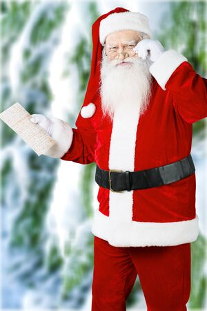 males only: Santa Claus. Stock Photo