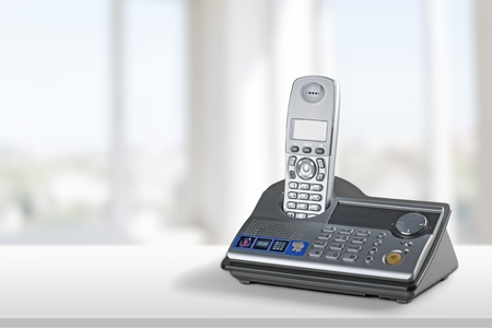handsfree device: Cordless Phone.