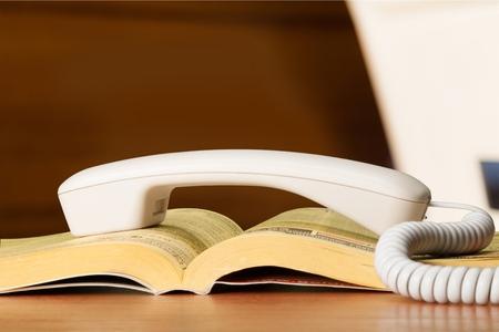 directorio telefonico: Directorio telef�nico. Foto de archivo