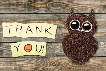 note pad: Thank You. Stock Photo