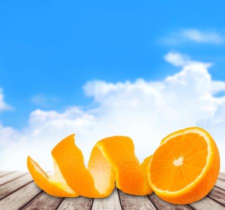 orange peel skin: Peel.