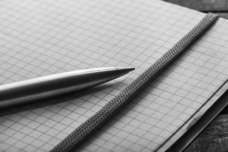 write a letter: Pen.