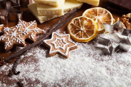baked: Baked. Stock Photo