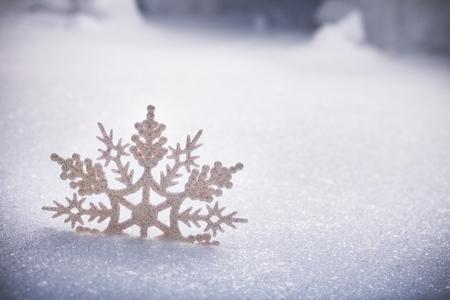 christmas snow: Snow.