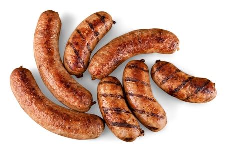 Sausage. Stock Photo