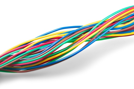 Wired. Stock Photo