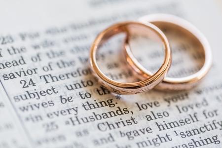 anillos boda: La boda.