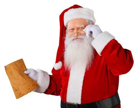 santa claus: Santa.